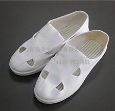防静电鞋 四孔帆布
