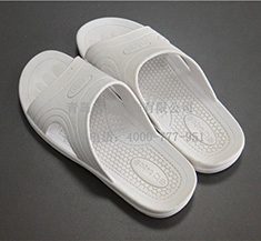 防静电拖鞋 白色