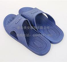 防静电拖鞋 蓝色