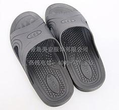 防静电PVC拖鞋 黑色